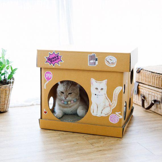 Cube The Ginger Cat Sticker (Mr. Goldenfish KAFBO)